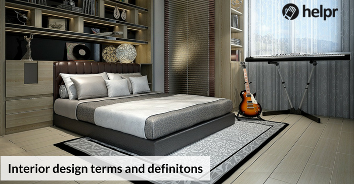 5 common interior design terms and their definitions for Interior decorating terms